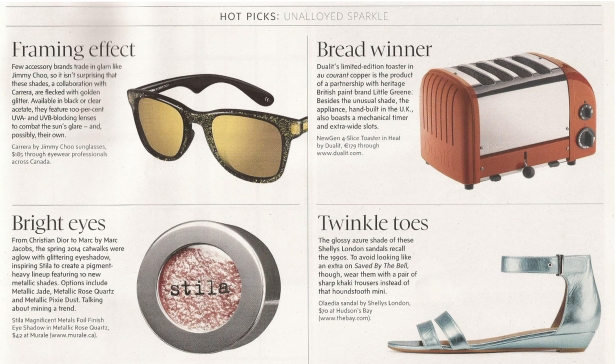 Hot Picks Metallics