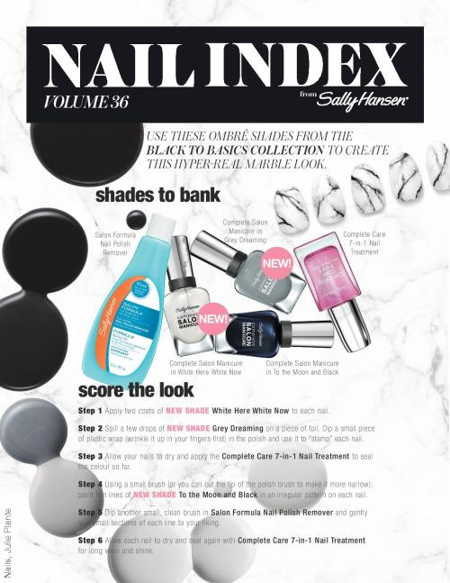 Nail Index How To Black to Basics