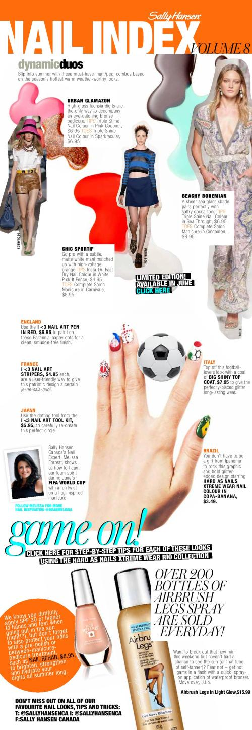 Sally Hansen Nail Index World Cup