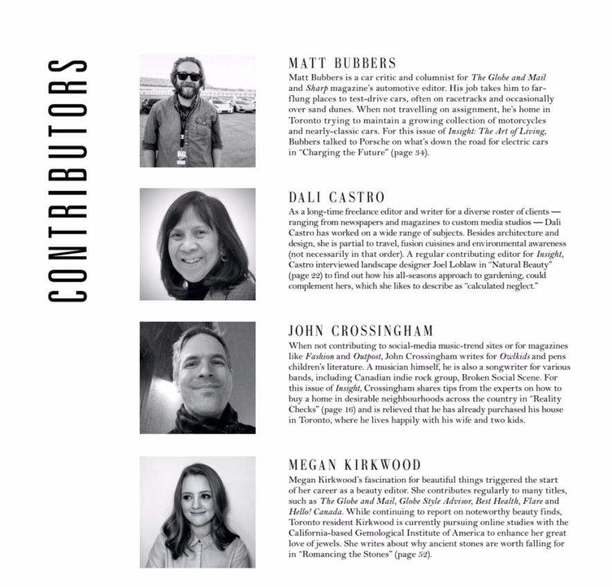 Sothebys Insight Spring 2019 Contributors